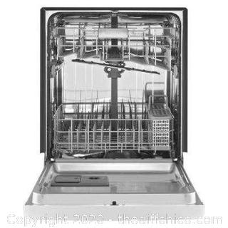 ($749) MAYTAG Front Control Built-In Tall Tub Dishwasher in Fingerprint Resistant Stainless Steel, 50 dBA