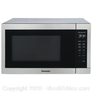 Panasonic 1.3CuFt Stainless Steel Countertop Microwave Oven NN-SC668S F/S ($129.99)