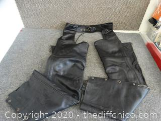 Classic Leather Gear First Chaps XS