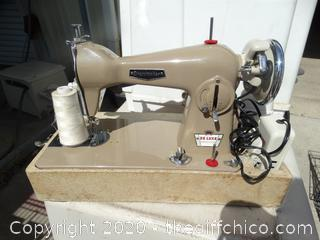 Home Electric Deluxe Preision Sewing Machine wks