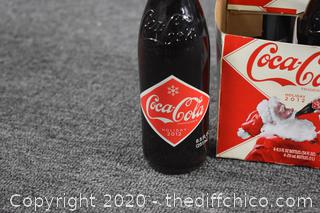 Collectible 4 Pack of Coca Cola