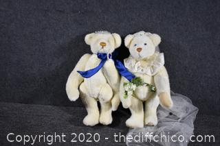 Awesome Collectible Bears w/movable legs and arms-Numbered and Signed