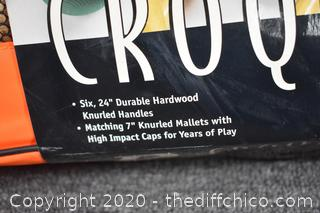 NIB Croquet Set