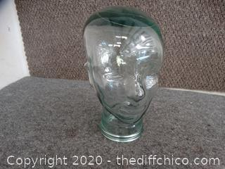 Glass Head Jar
