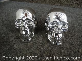 Chrome Colored Skulls