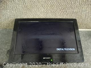 Emerson TV With Built in Dvd player