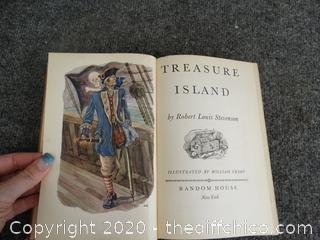 1949 Treasure Island Book
