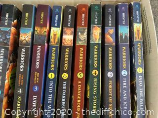 Erin Hunter Books