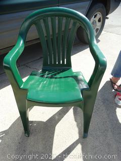 Green Patio Chair