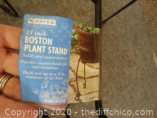 "15"" Boston Planter Stand"