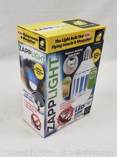 *NEW* As Seen On TV Zapplight Bug Zapping LED Lightbulb