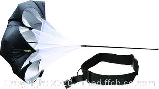 *NEW* PER4M Power Chute – 54-Inch Speed-Training Parachute with Adjustable Belt