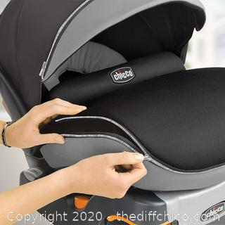 Chicco Keyfit 30 Zip Infant Child Safety Car Seat & Base Minerale 4 - 30 lbs