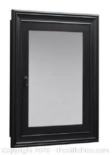 "NEW ($769.99) Antique Black William 27"" x 34"" Surface Mount Medicine Cabinet"