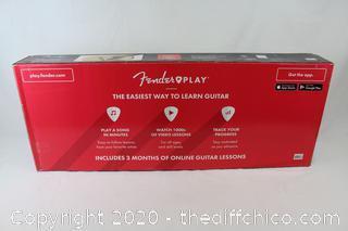 Fender FA-125 Dreadnought Acoustic Guitar w/ Bonus Accessories & Stand