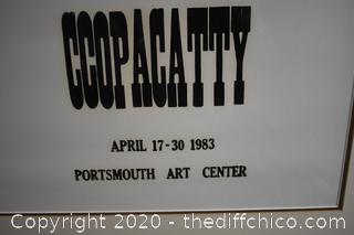 Framed Signed and Number Poster - 13/100