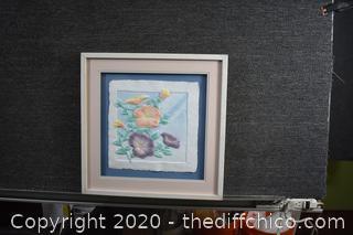 Framed 3D Paper Art