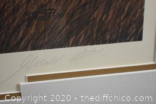 Framed Signed Special Edition