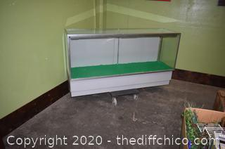 Glass Display Cabinet-need to be rewired
