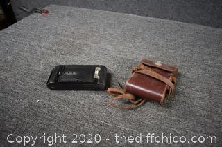 Vintage Camera w/Case