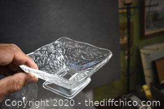 Set of 38 Pieces of Glass Dishes