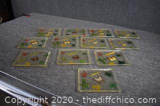 12 Acrylic Trays