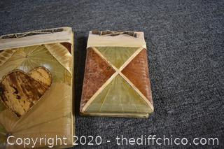 3 Hand Made Note Pads