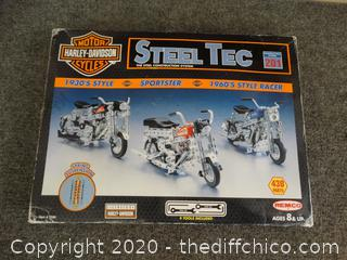 Harley Davidson Steel Tec  The Steel Construction System