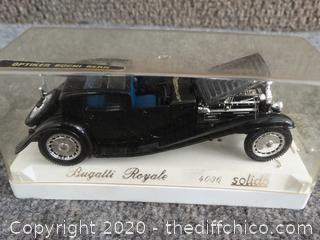 Toy Bugatti Royal Car Small