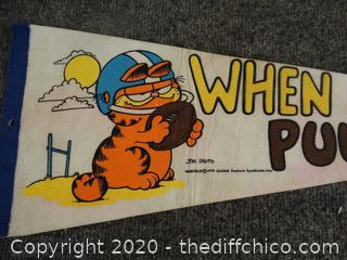Garfield Pennant