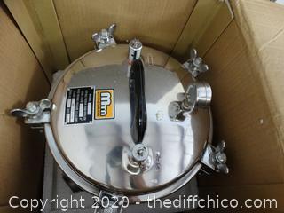 Potable Pressure Steam Sterilizer New In Box