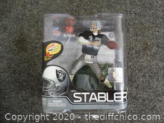 Ken Stabler Raiders Figurine  NIB