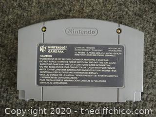 Nintendo 64 F-Zero X Game