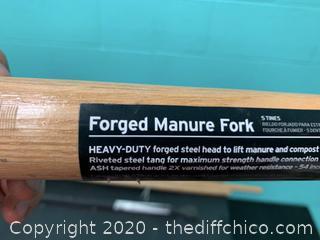 Forged Manure Fork (J6)