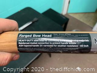 "Forged Bow Head 16"" Rake (J11)"