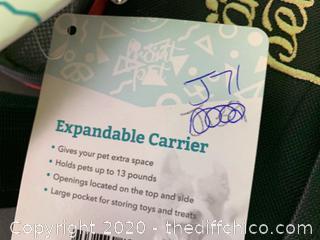 Frontpet Extendable Pet Carrier (J71)