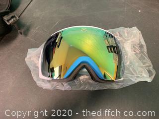 Winterial Ski/Snowboard Goggles - Teal (J80)
