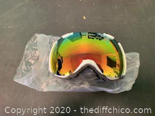 Winterial Ski/Snowboard Goggles - White (J82)