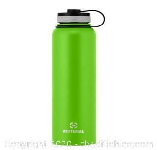 Winterial 40oz Stainless Steel Water Bottle - Green (J88)