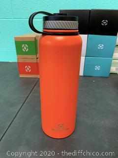 Winterial 40oz Stainless Steel Water Bottle - Orange (J91)