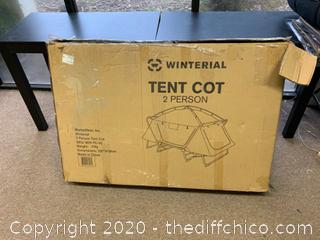 Winterial Tent Cot - Gray (J111)