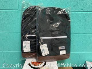 Driftsun Black And Tan Backpack - Lot of 2 (J117)