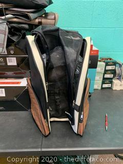 Frontpet Airline Approved Rolling Dog Carrier & Backpack (J118)