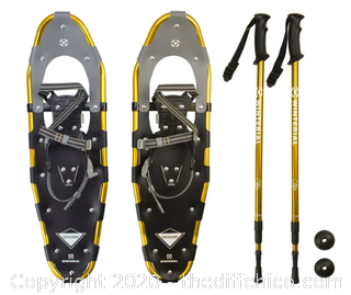 Winterial Highland 30-Inch Snowshoes - Gold (J125)