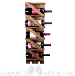 Atterstone Rustic Wine Rack (J132)