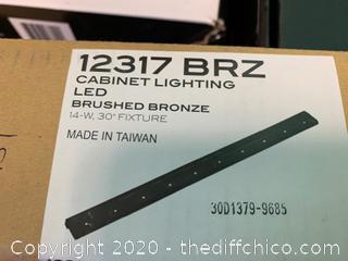 Kichler 12317BRZ Cabinet Strip/Bar Light - Bronze (J159)