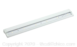 Kichler 12315WH27 LED 18IN 24-volt Modular Under Cabinet Fixture, White Finish (J167)