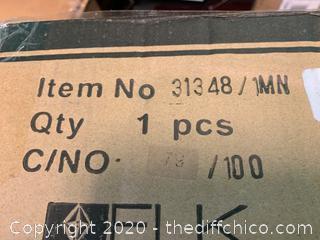 ELK 31348/1MN Vines 1 Light 5 inch Satin Nickel Mini Pendant (J184)