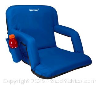 Driftsun Folding Stadium Seat - Standard Blue (J200)