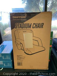 Driftsun Folding Stadium Seat - Standard Blue (J199)